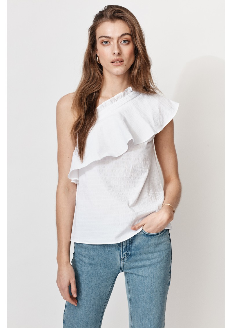 MAYLA Billie Organic Cotton Top - White main image