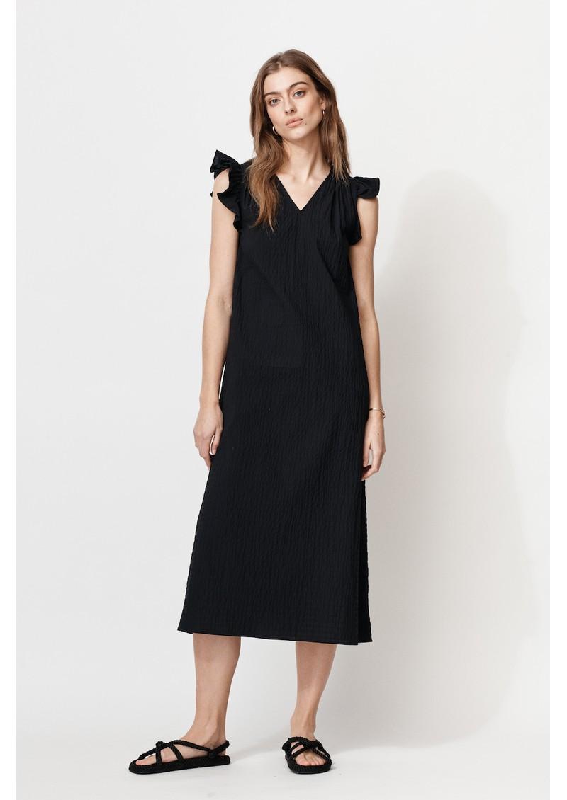 MAYLA Margot Organic Cotton Dress - Black main image