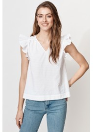 MAYLA Veronica Organic Cotton Top - White