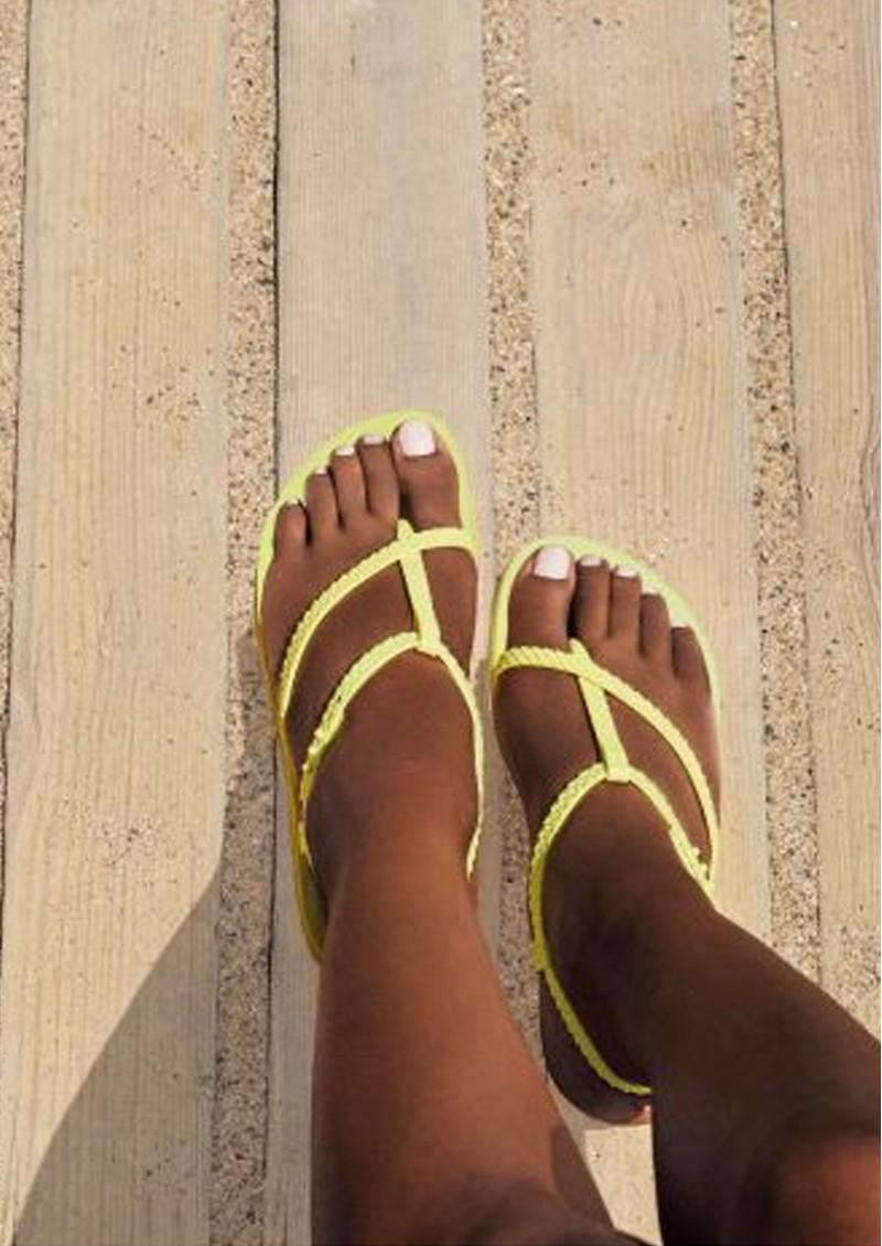 Ipanema Wish Sandals - Neon Yellow main image