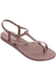 Ipanema Wish Sandals - Chrome Deep Nude