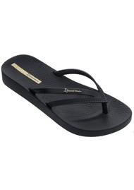 Ipanema Bossa Soft 23 Flip Flops - Black