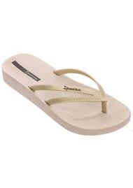 Ipanema Bossa Soft 23 Flip Flops - Gold