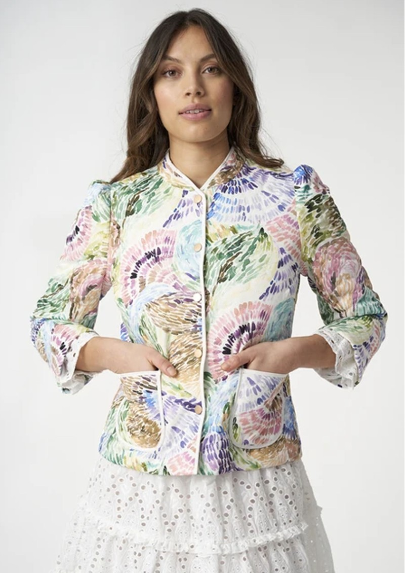 DEA KUDIBAL Rosy Jacket - Brush main image