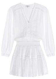 Rails Jasmine Linen Mix Dress - White Lace
