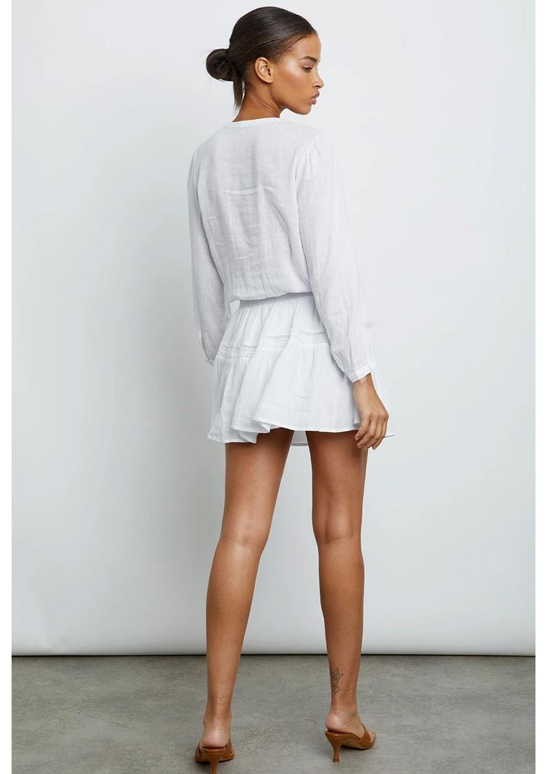 Rails Jasmine Linen Mix Dress - White Lace main image