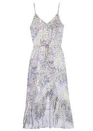 Rails Frida Linen Mix Dress - Rainbow Cheetah