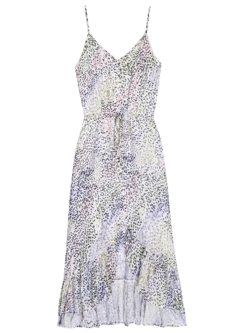 Rails Frida Linen Mix Dress - Rainbow Cheetah main image