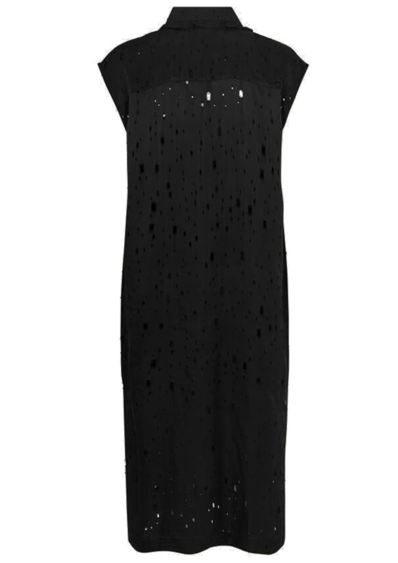 Abbiella Sleeveless Dress - Lacy Black main image