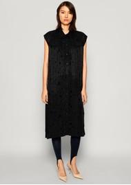 BAUM UND PFERDGARTEN Abbiella Sleeveless Dress - Lacy Black