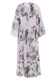 DEA KUDIBAL Brenda Midi Silk Dress - Floral Bay