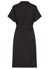LEVETE ROOM Isla Solid 25 Cotton Mix Dress - Black
