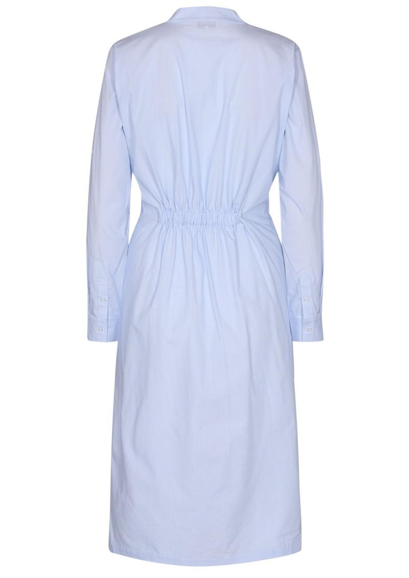 LEVETE ROOM Nanna 3 Cotton Dress - Blue Stripe main image