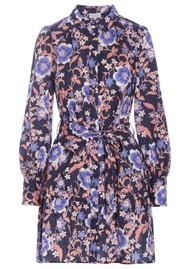 DEA KUDIBAL Madeline NS Linen Shirt Dress - Malva Coral
