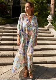 DEA KUDIBAL Harper Silk Printed Dress - Brush