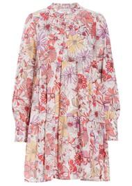 DEA KUDIBAL Kira Ns Cotton Dress - Gerbera Orange