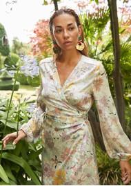 DEA KUDIBAL Mathilde Silk Dress - Gerbera Purple