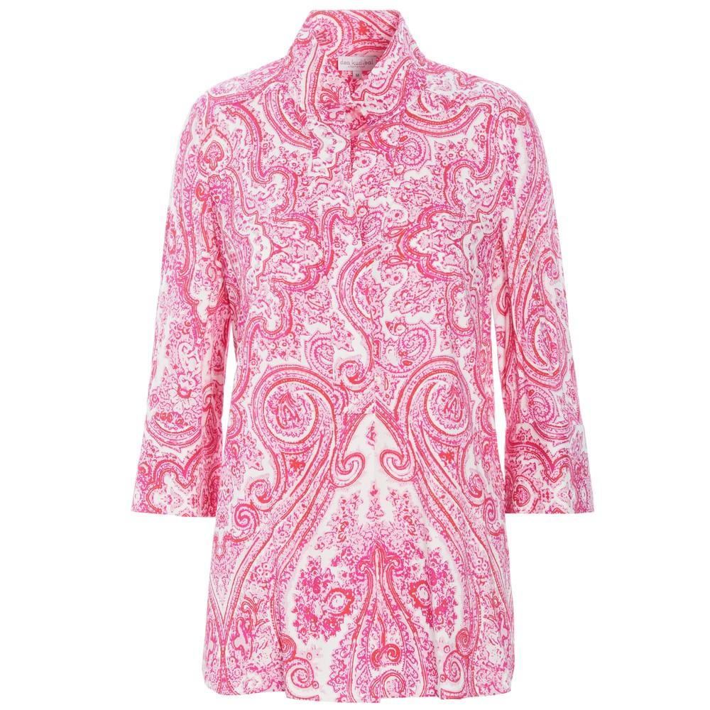 Kammi Tunic Top - Paisley Pink