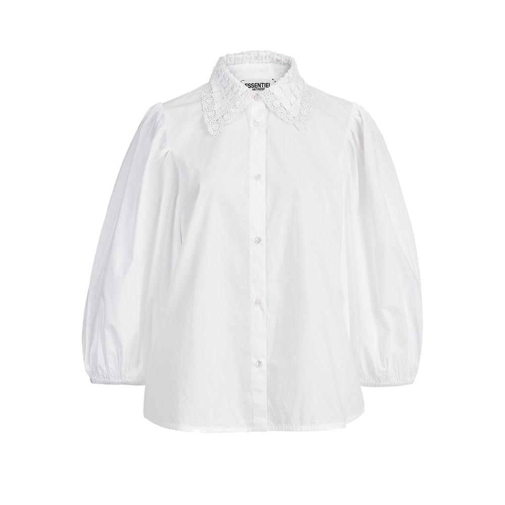 Zelder Cotton Poplin Shirt - White