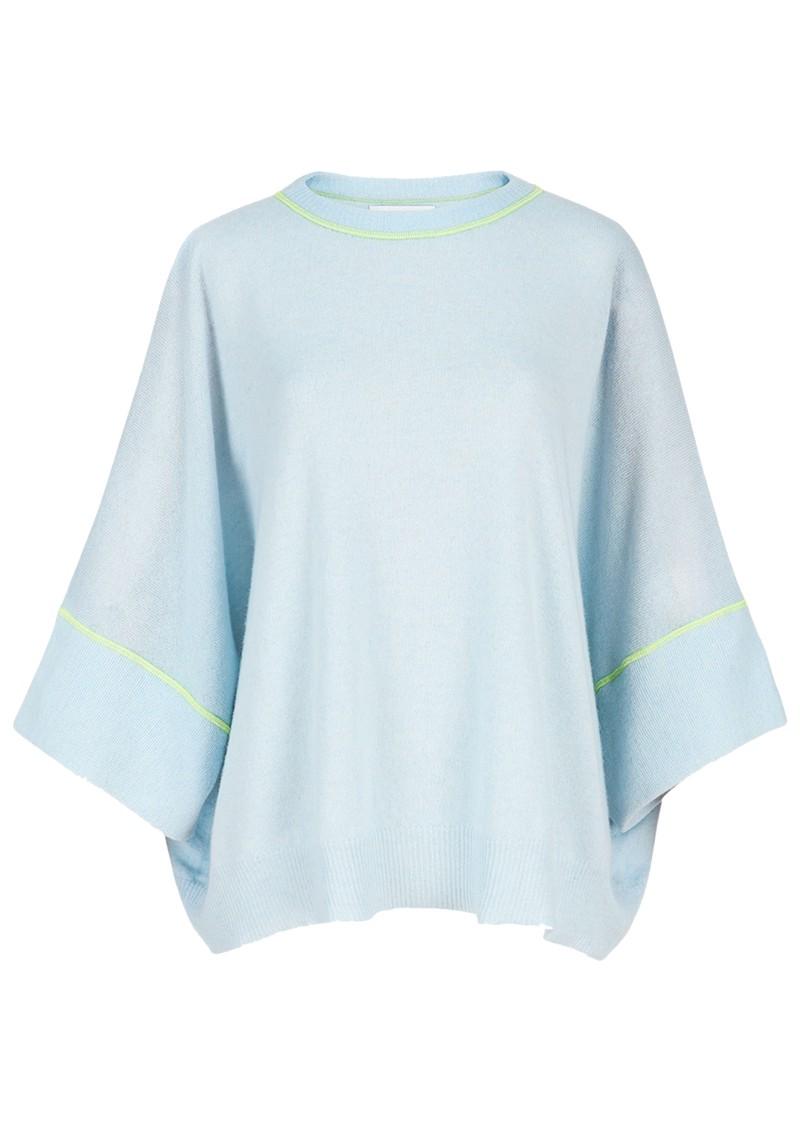 ESSENTIEL ANTWERP Zacifico Merino Wool Mix Jumper - Sky Blue main image