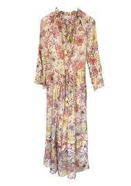 DEA KUDIBAL Brenda Silk Dress - Gerbera Orange