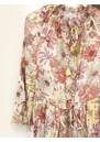 Brenda Silk Dress - Gerbera Orange additional image