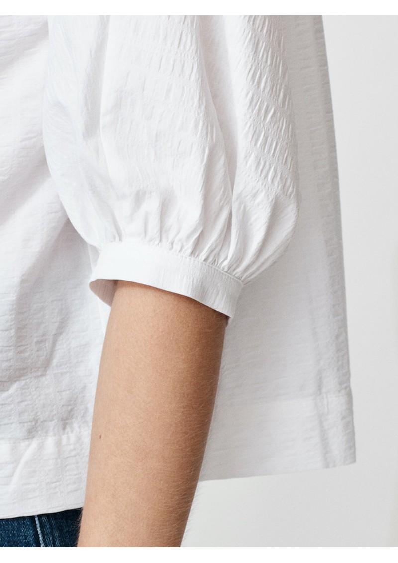 MAYLA Maya Organic Cotton Top - White main image