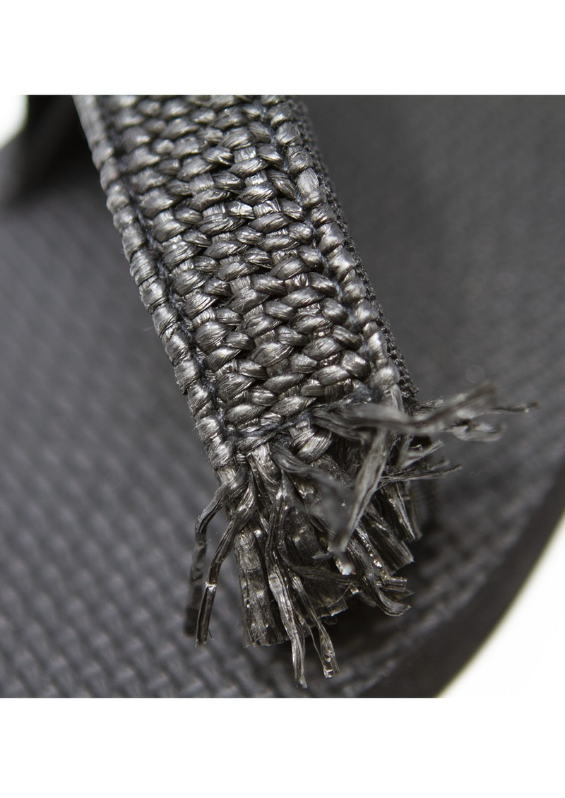 ARIZONA LOVE Trekky Rafia Sandals - Black main image