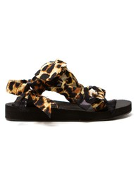 ARIZONA LOVE Trekky Chou Tie Up Sandals - Leopard