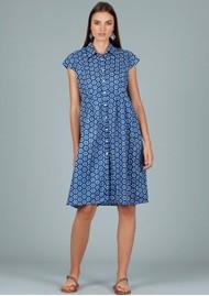 DREAM Arlington Cotton Shirt Dress - Shanghai Blue