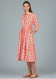 DREAM Tuscany Cotton Dress - Creeper Coral