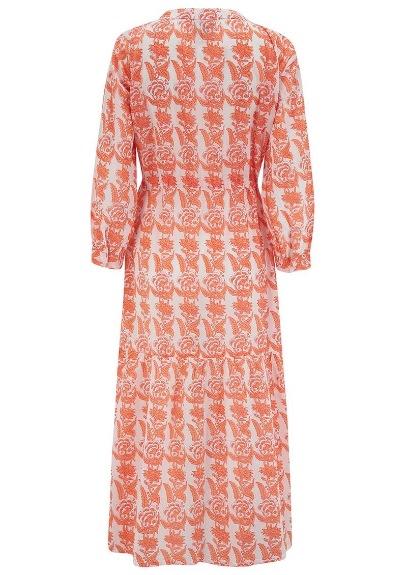 DREAM Tuscany Cotton Dress - Creeper Coral main image
