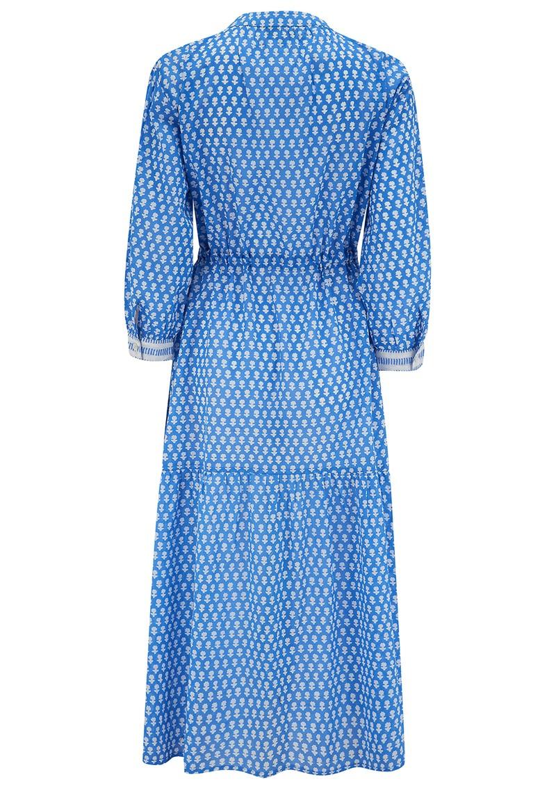 DREAM Tuscany Cotton Dress - Iris Blue main image