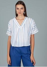 DREAM Striped Cotton Top - Multi