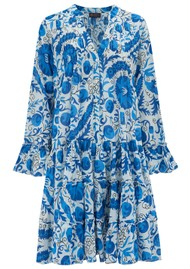 DREAM Lobster Cotton Dress - Afghan Blue