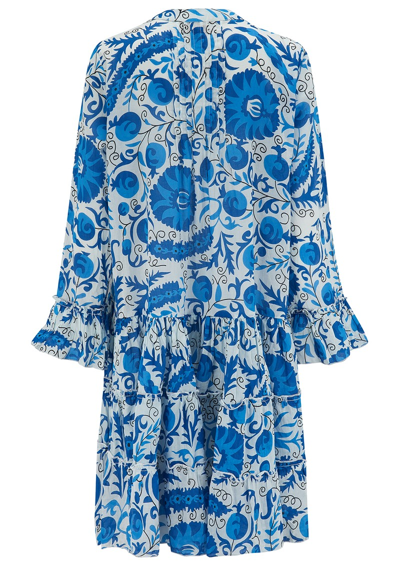 DREAM Lobster Cotton Dress - Afghan Blue main image
