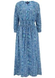 DREAM Roma Cotton Dress - Lama Blue