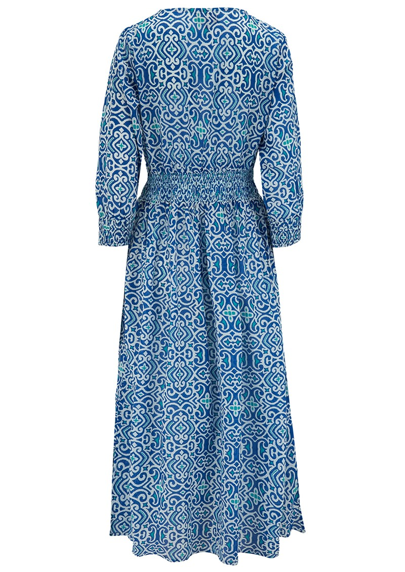 DREAM Roma Cotton Dress - Lama Blue main image