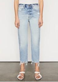 Frame Denim Le Original High Rise Slim Straight Jeans - Clash