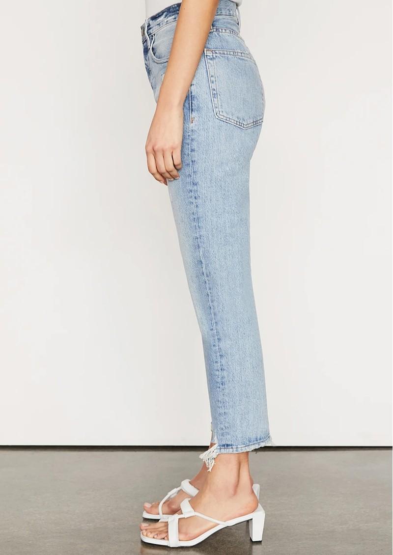 Frame Denim Le Original High Rise Slim Straight Jeans - Clash main image