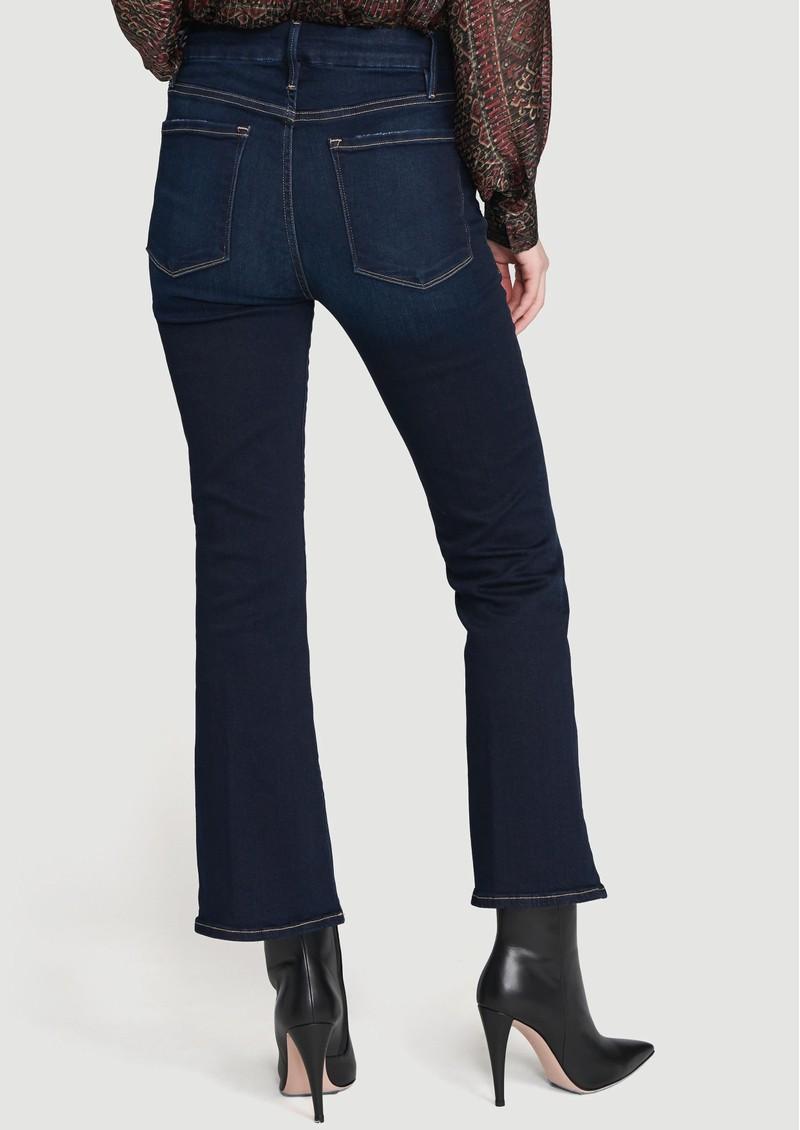Frame Denim Le Crop High Rise Bootcut Jeans - Cabana main image