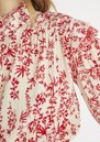 Carl Smock Blouse - Red additional image