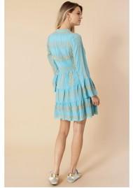 Hale Bob Leith Dress - Sky Blue