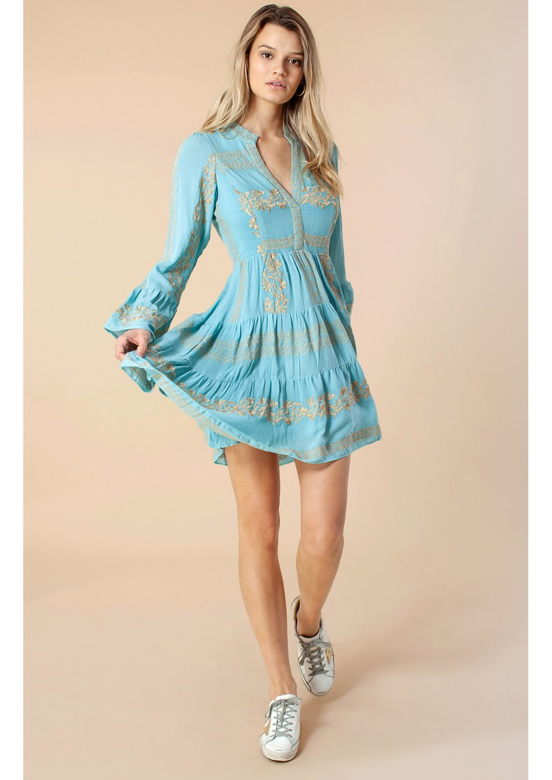 Hale Bob Leith Dress - Sky Blue main image