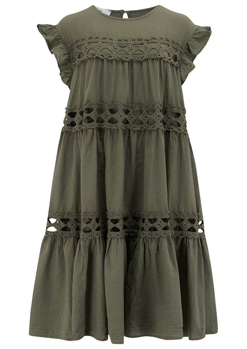 DEVOTION Sleeveless Dress - Khaki main image