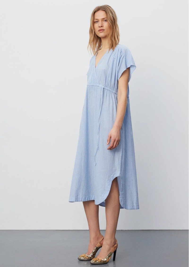 Day Birger et Mikkelsen Day Wind Cotton Midi Dress - Persian Jewel main image