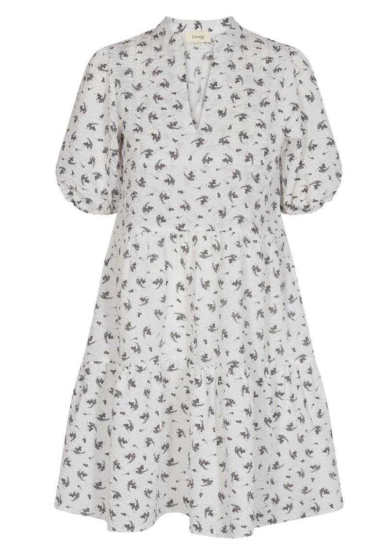 LEVETE ROOM Nelly 2 Cotton Dress - White main image