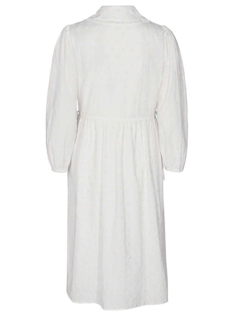 Norma 1 Cotton Dress - Off White main image