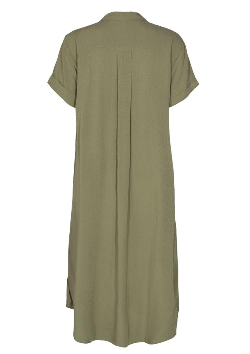 LEVETE ROOM Kara 7 Dress - Khaki  main image