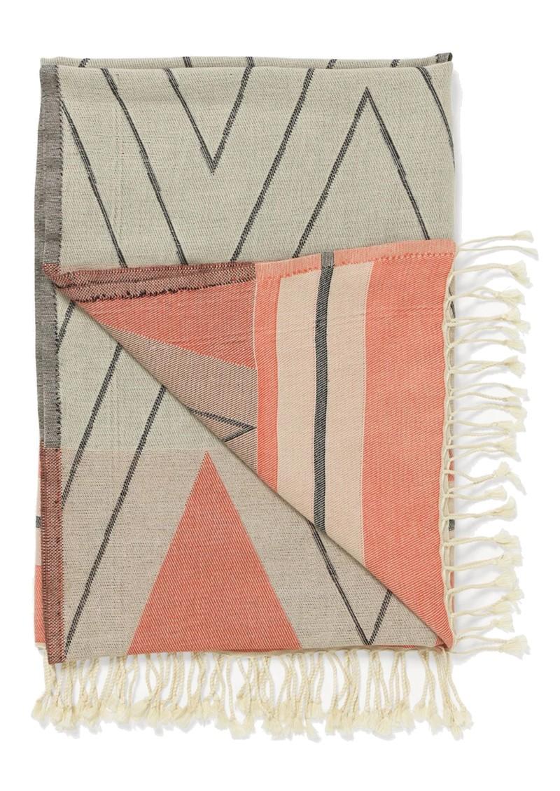 Becksondergaard Marisol Cotton Towel - Burnt Sienna main image